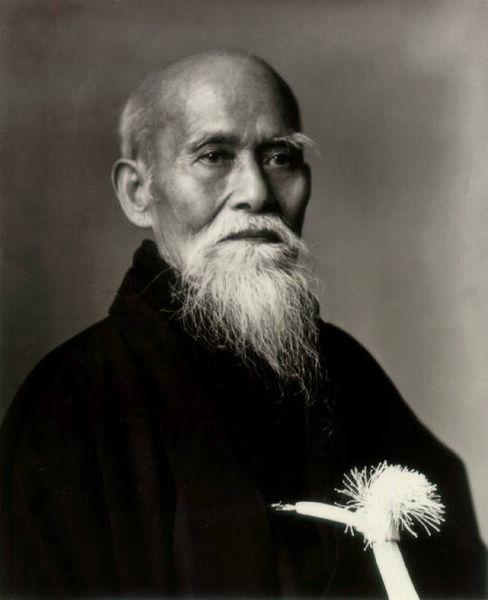 Morihei Ueshiba OSensei